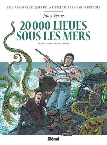 Vingt mille lieues sous les mers en BD