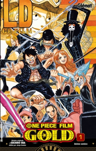 One Piece Anime comics - Gold - Tome 01