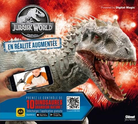Jurassic World - Le livre de Réalité Augmentée