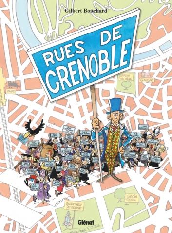 Les Rues de Grenoble en BD NE