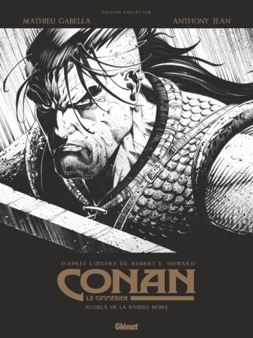 Conan le Cimmérien - Au-delà de la rivière noire N&B