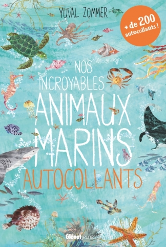 Nos incroyables animaux marins autocollants