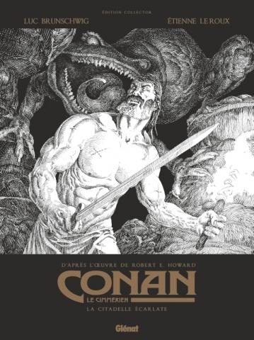 Conan le Cimmérien - La Citadelle écarlate N&B