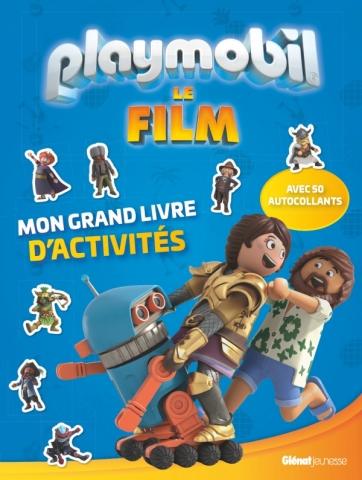 Playmobil - Mon grand livre d'activités avec stickers