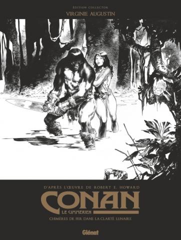 Conan le Cimmérien - Chimères de fer dans la clarté lunaire N&B