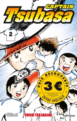 Captain Tsubasa - Tome 02 3euro