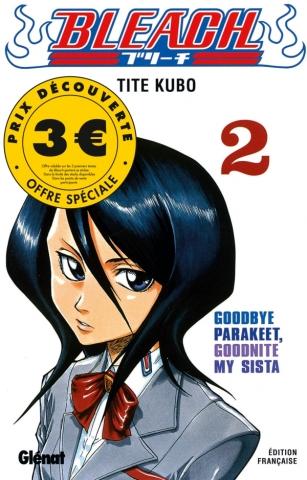 Bleach - Tome 02 - 3 euros