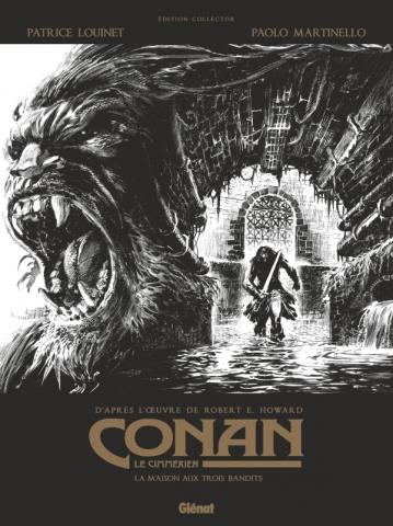Conan le Cimmérien - La Maison aux trois bandits N&B
