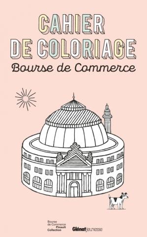 Cahier de coloriage Bourse de Commerce