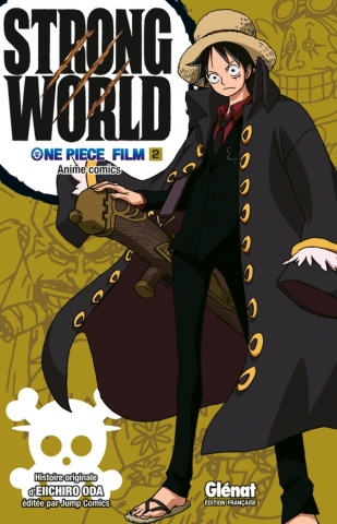 One Piece Anime comics - Strong World - Tome 02