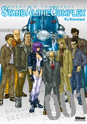 The Ghost in the shell - Stand Alone Complex - Tome 01