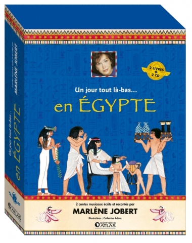 Coffret un jour tout là-bas en Égypte