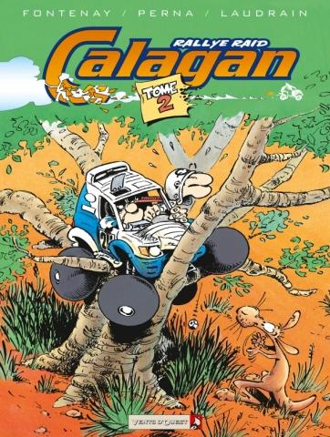 Calagan - Rallye raid - Tome 02