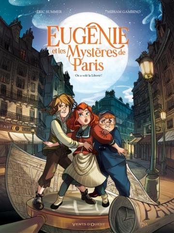 Eugénie et les mystères de Paris - Tome 01