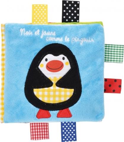 Noir et jaune comme le pingouin