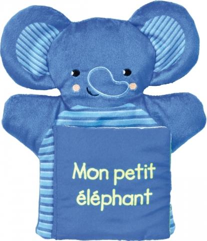 Mon petit éléphant - Livre Marionnette