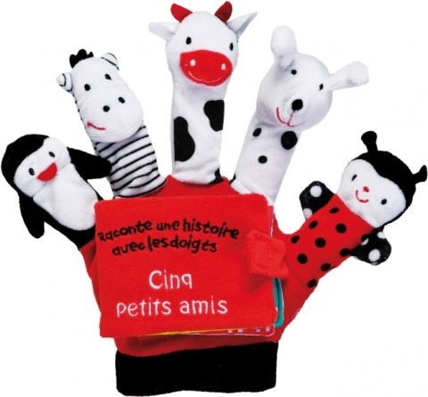 Cinq petits amis - Livre Gant