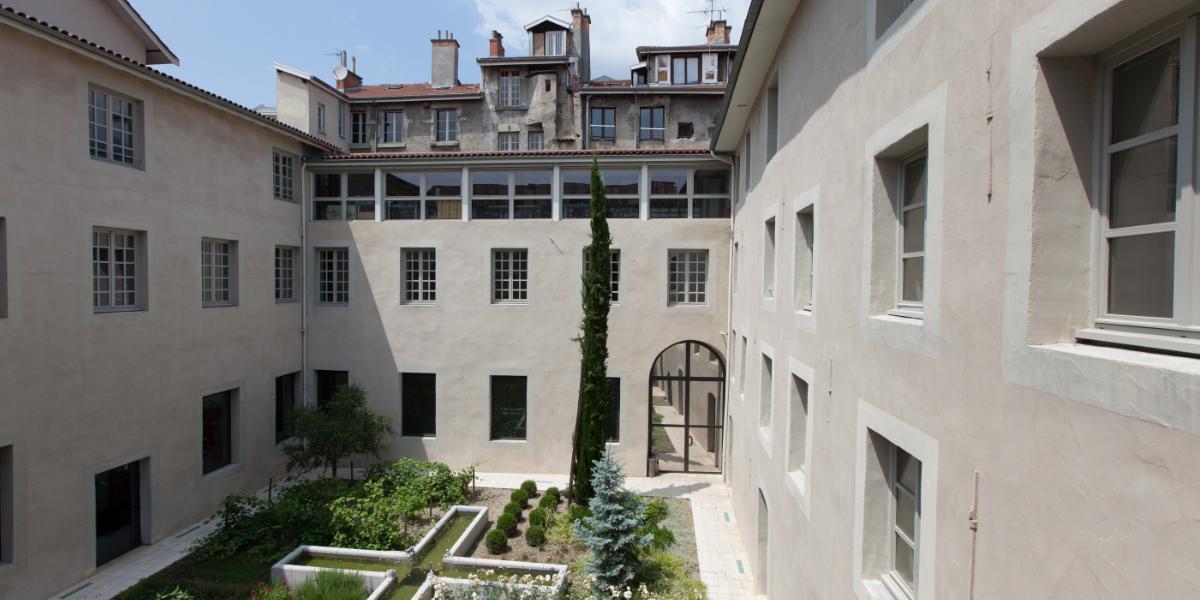 Intérieur du couvent Ste Cécile
